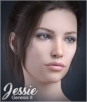 Sabby-Jessie for Genesis 8 3D Figure Assets Sabby