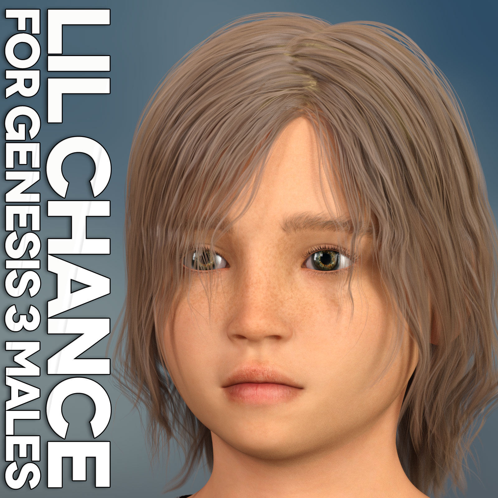 Lil Chance for Genesis 3 Males by 3DLoki