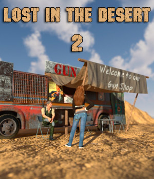 AJ Lost In The Desert 2 3D Models -AppleJack-