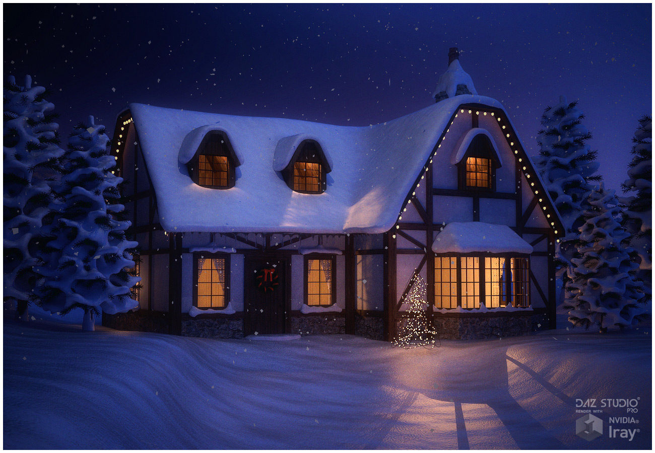 Winter Cottage