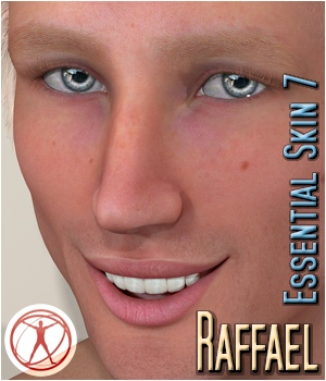 Raffael - Essential Skin 7 3D Figure Assets 3Dream