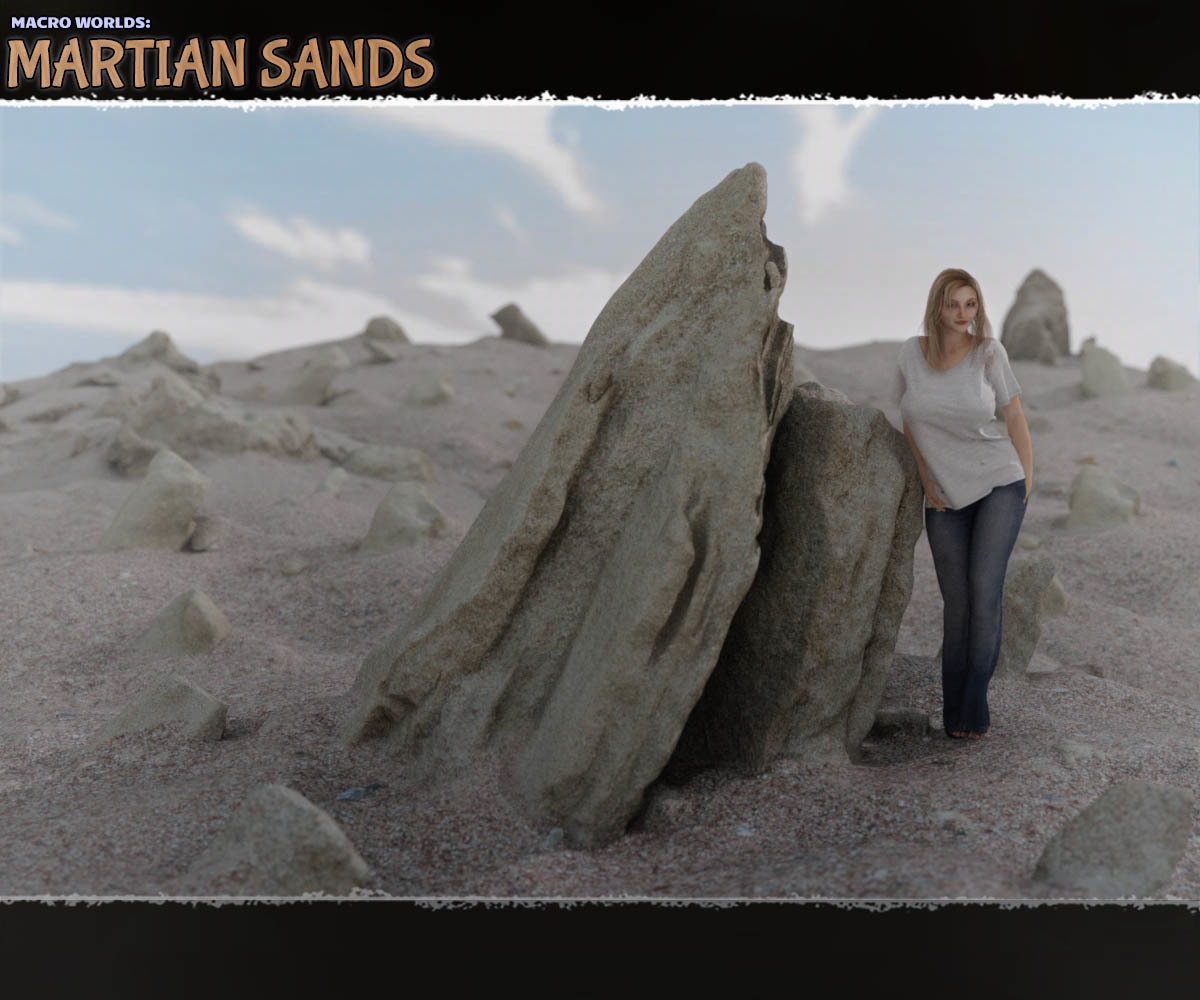 Macro Worlds: Martian Sands - Extended License 3D Models Extended Licenses ShaaraMuse3D
