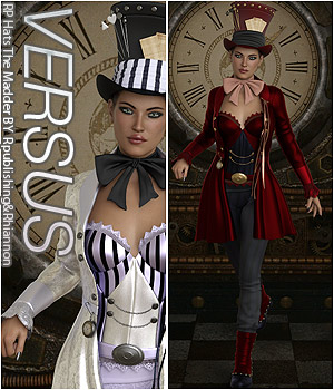 VERSUS - RP Hats The Madder 3D Figure Assets Anagord