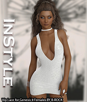 InStyle - Vip Lace for Genesis 8 Females 3D Figure Assets -Valkyrie-