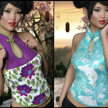 7th Ave: Asia Top for Genesis 8 Females image 3