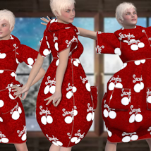 Bubble Dress for V4 and Poser image 2