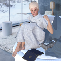 Bubble Dress for V4 and Poser image 12