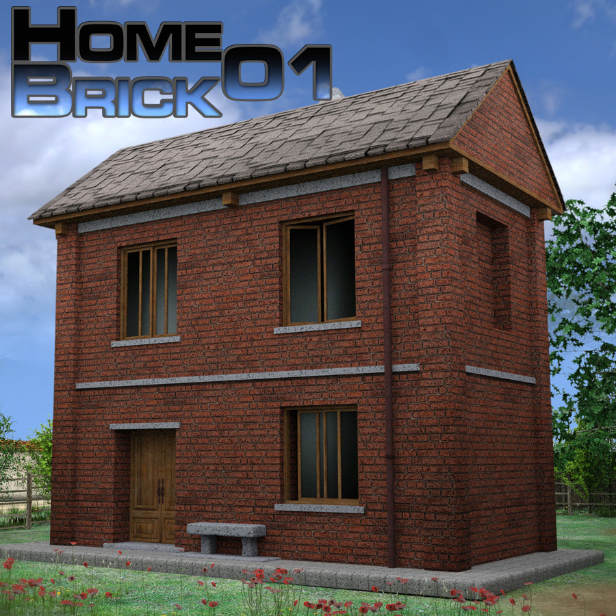Home01Brick  Extended Licence by imagebos
