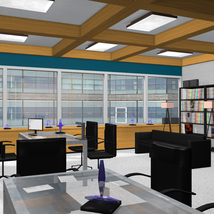 High End Office for Poser 7+ image 1