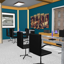 High End Office for Poser 7+ image 2
