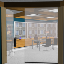 High End Office for Poser 7+ image 4