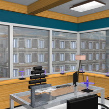 High End Office for Poser 7+ image 6