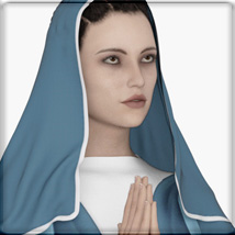 Faxhion - dForce Nun Costume image 9