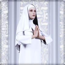 Faxhion - dForce Nun Costume image 10