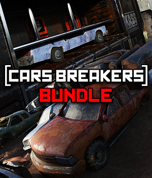 Car Breakers BUNDLE for DS Iray 3D Models powerage