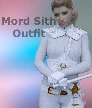 Mord Sith Outfit -Sword of Truth  3D Figure Assets 3dpoetry