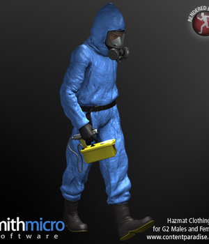 Hazardous Materials Clothing Set for G2 Males & Females Legacy Discounted Content Poser_Software