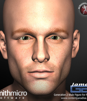 G2 James Complete Figure Pack Legacy Discounted Content Poser_Software