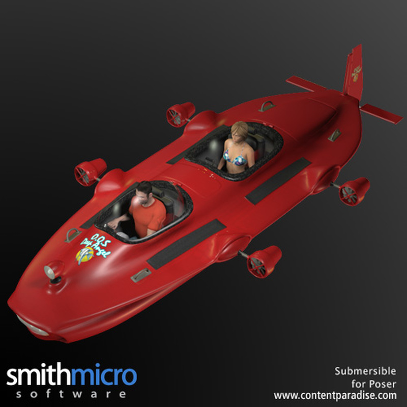 Submersible by Poser_Software