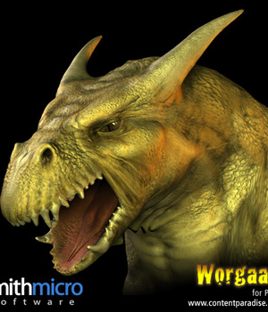 Worgaam Orc Beast of Burden Figure Legacy Discounted Content Smith_Micro