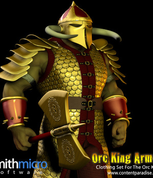 Orc King Armor Clothing Set Legacy Discounted Content Poser_Software
