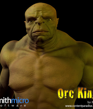 Orc King Figure Pack Legacy Discounted Content Poser_Software