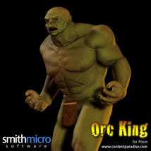 Orc King Figure Pack image 1