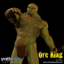 Orc King Figure Pack image 2