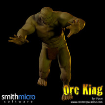 Orc King Figure Pack image 3