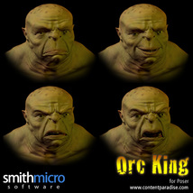 Orc King Figure Pack image 4