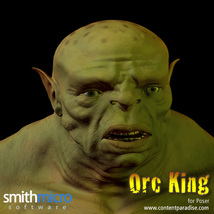 Orc King Figure Pack image 5