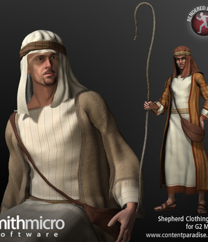 Shepherd Clothing Set for G2 Males Legacy Discounted Content Smith_Micro