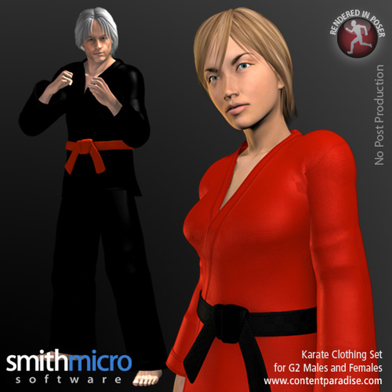 Karate Clothing Set for G2 Males & G2 Females