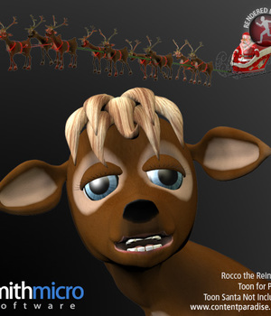 Rocco the Reindeer Legacy Discounted Content Smith_Micro