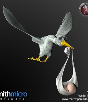 Stork and Baby Legacy Discounted Content Smith_Micro