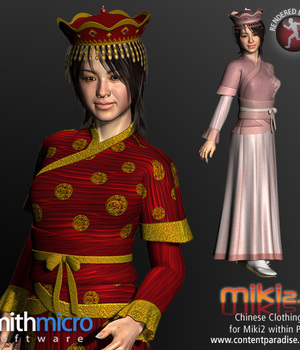 Chinese Clothing Set for Miki 2.0 Legacy Discounted Content Poser_Software