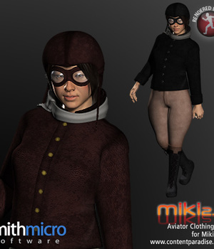 Aviator Clothing Set for Miki 2.0 Legacy Discounted Content Poser_Software