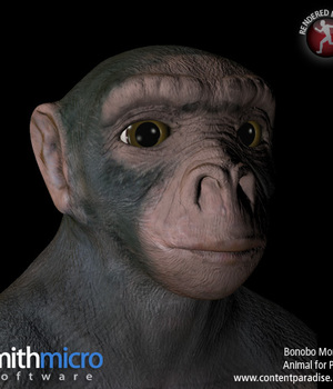 Bonobo Chimpanzee Legacy Discounted Content Poser_Software