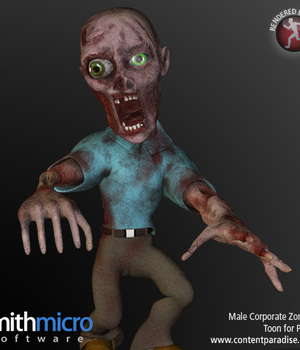 Toon Male Corporate Zombie Legacy Discounted Content Smith_Micro
