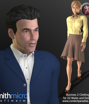 Business Clothing #2 for G2 Figures (Career Series) Legacy Discounted Content Poser_Software