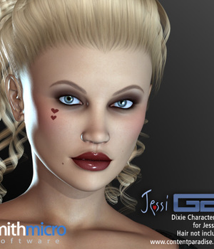 Dixie Character Set for G2 Jessi Legacy Discounted Content Smith_Micro