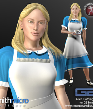 Alice Clothing Set for G2 Females Legacy Discounted Content Poser_Software