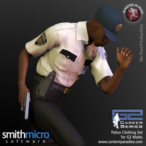 Police Officer Clothing Pack G2 Males (Career Series) image 1