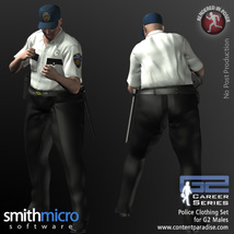 Police Officer Clothing Pack G2 Males (Career Series) image 2