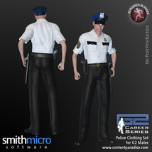 Police Officer Clothing Pack G2 Males (Career Series) image 3