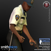 Police Officer Clothing Pack G2 Males (Career Series) image 5