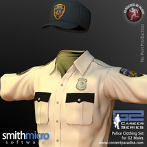 Police Officer Clothing Pack G2 Males (Career Series) image 6