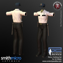 Police Officer Clothing Pack G2 Males (Career Series) image 7