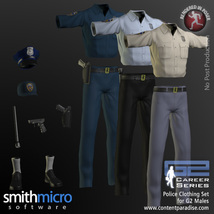 Police Officer Clothing Pack G2 Males (Career Series) image 8