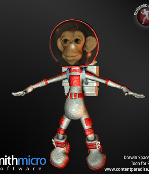 Space Suit for Darwin Legacy Discounted Content Smith_Micro